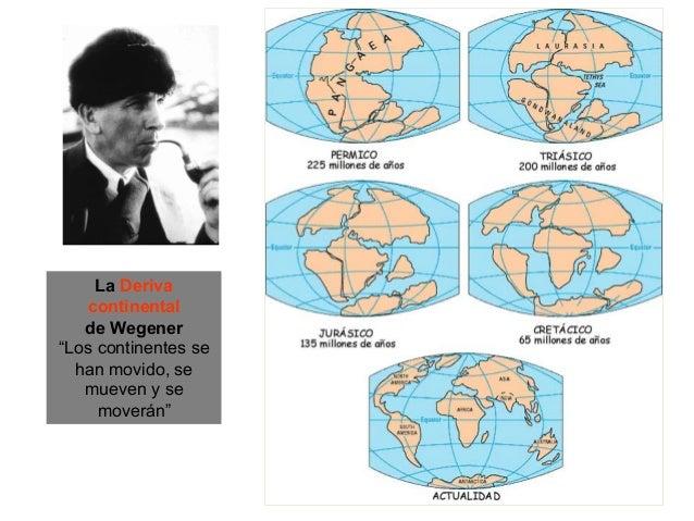 Los argumentos de WegenerArgumentos geográficosArgumentos paleoclimáticosArgumentos geológicosArgumentos paleontológicosLa...