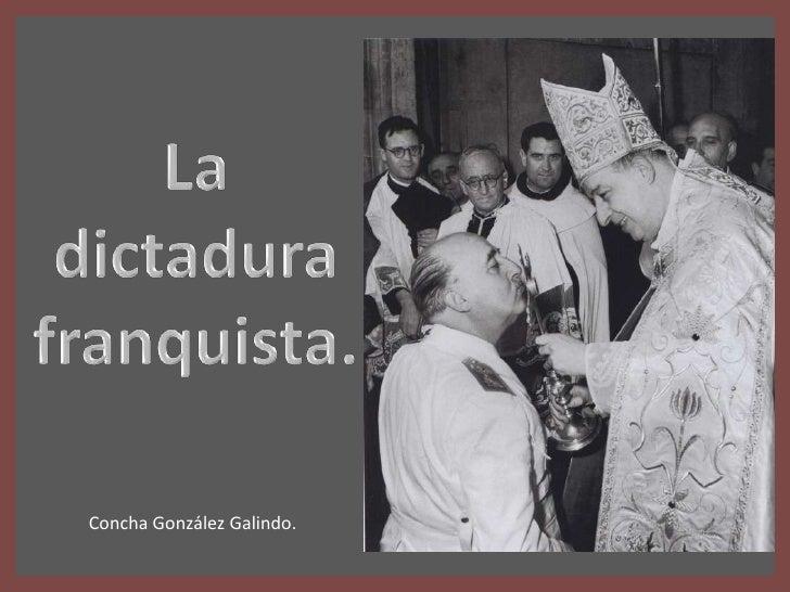 Concha González Galindo.
