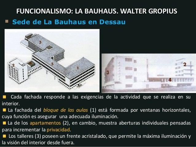 Tema 19 la arquitectura del siglo xx - Bauhaus iluminacion interior ...