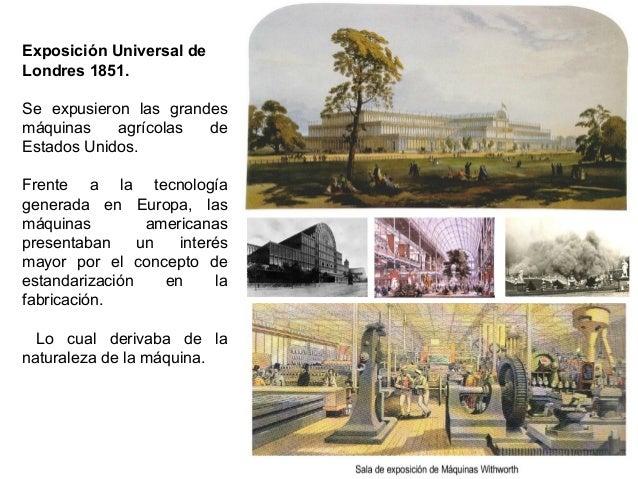 Exposición Universal de Londres 1851. Se expusieron las grandes máquinas agrícolas de Estados Unidos. Frente a la tecnolog...