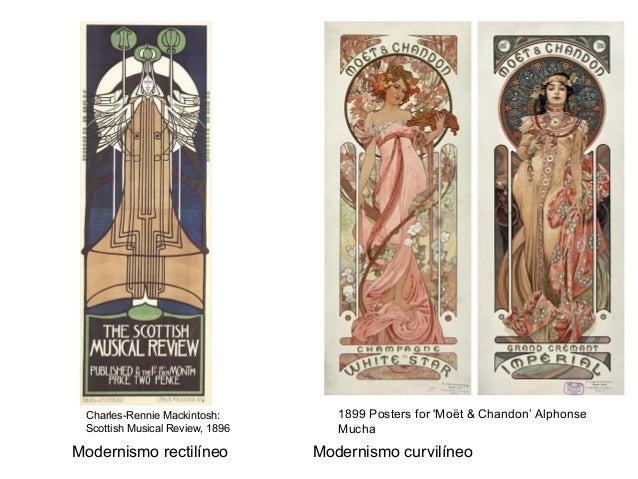 Charles-Rennie Mackintosh: Scottish Musical Review, 1896 1899 Posters for 'Moët & Chandon' Alphonse Mucha Modernismo recti...