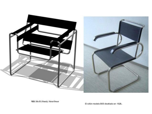 El sillón modelo B55 diseñado en 1928.