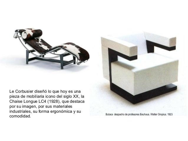 Le Corbusier diseñó lo que hoy es una pieza de mobiliaria icono del siglo XX, la Chaise Longue LC4 (1928), que destaca por...