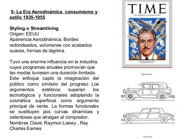 Diseño americano Raymon Loewy 1935-1950