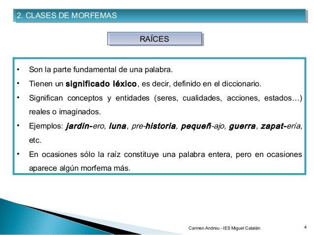 Tema 1 Análisis Morfológico Composición Y Derivación 2012 13