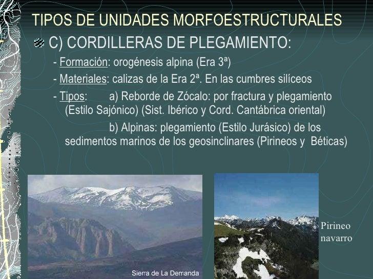 Tema 1 geomorfolog a geograf a 2 bachillerato for Definicion de beta