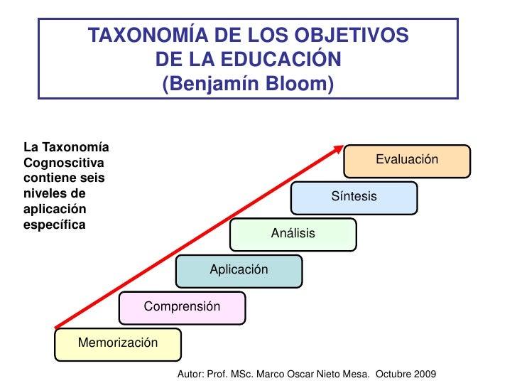 Taxonomias en el campo educacional for Taxonomia de la jirafa
