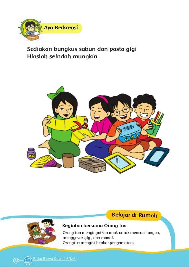 Tema 1 Diriku Kurikulum 2013 Buku Siswa Bse Kelas 1 Sd