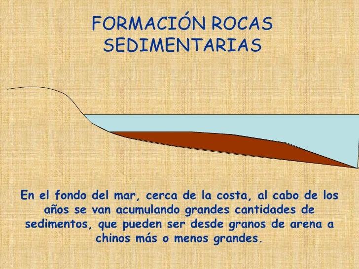 Tema 1 formaci n rocas sedimentarias for Formacion de la roca