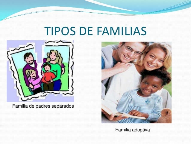Tema 1 mbito familiar Tipos de familia nuclear