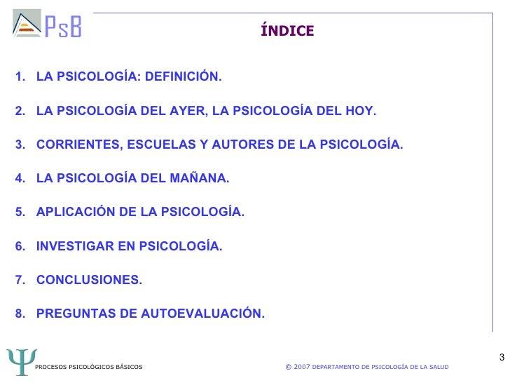 Tema 1 Procesos Psicológicos Basicos