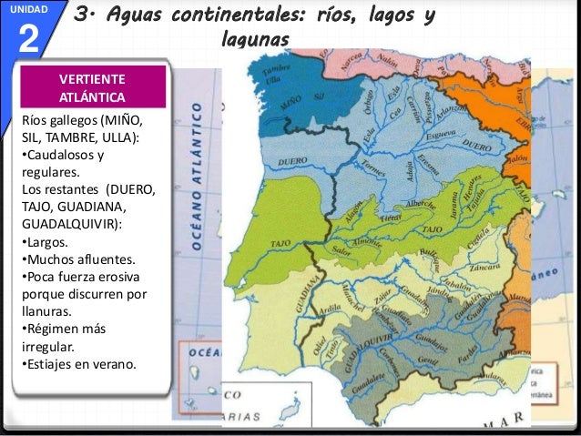Rio Tambre Mapa Fisico.Tema 2 El Mapa Fisico De Espana