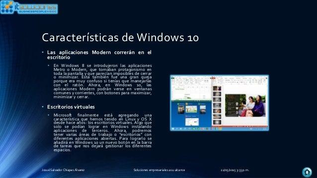 Tema 2 windows 8 1 10 android os for Escritorio ergonomico caracteristicas
