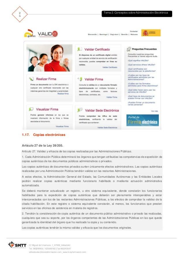 Tema2 aaee for Oficina de asistencia en materia de registros
