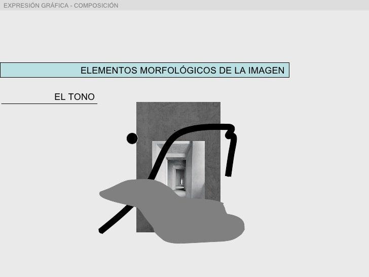 ELEMENTOS MORFOLÓGICOS DE LA IMAGEN EL TONO