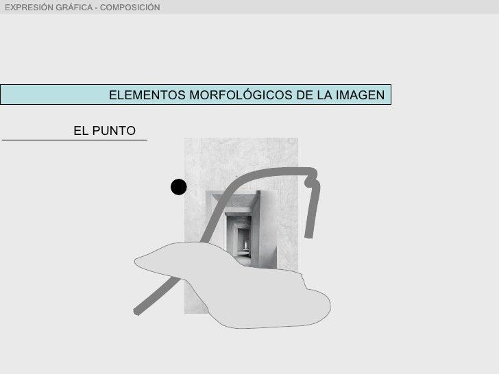 ELEMENTOS MORFOLÓGICOS DE LA IMAGEN EL PUNTO