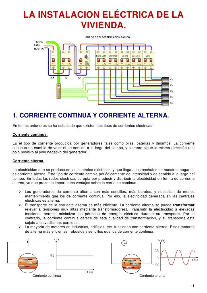 Tema 2 instalaciones el ctricas en viviendas - Cambiar instalacion electrica sin rozas ...