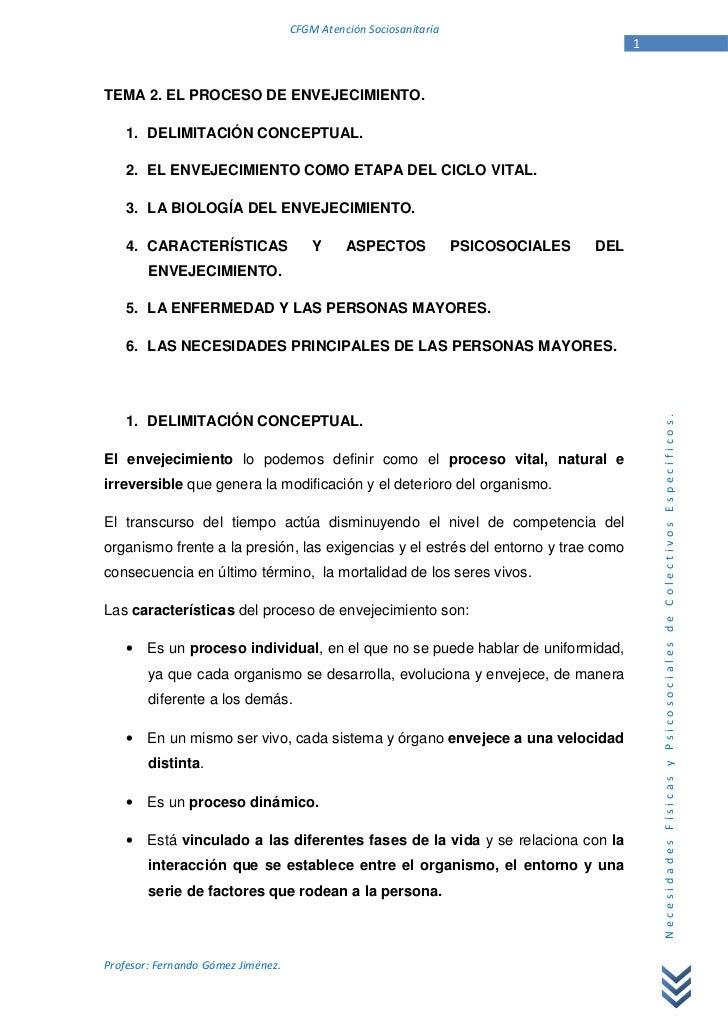 CFGM Atención Sociosanitaria                                                                                         1TEMA...