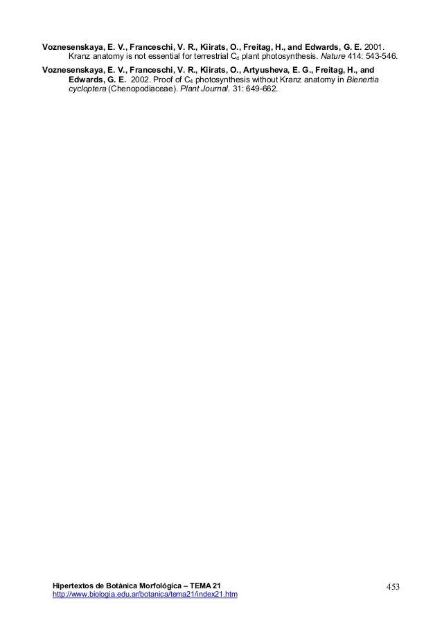 Tema21- Anatomía de hoja- Hipertextos de Botánica Morfológica www.bio…