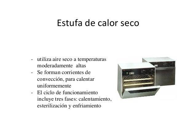 Disinfeccion y esterelizacion - Estufa de calor ...