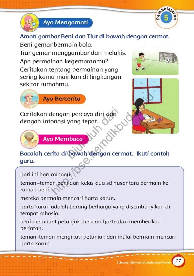 Buku Guru Tema Bermain Di Lingkunganku Download Pdf