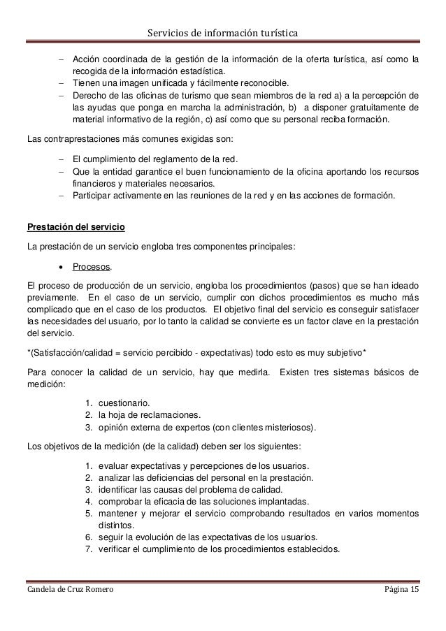 Tema 2 oficinas de informaci n tur stica tipolog as y for Cuales son las caracteristicas de la oficina