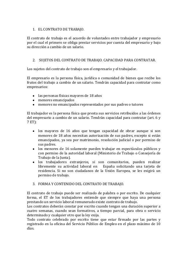 Tema 2 El Contrato