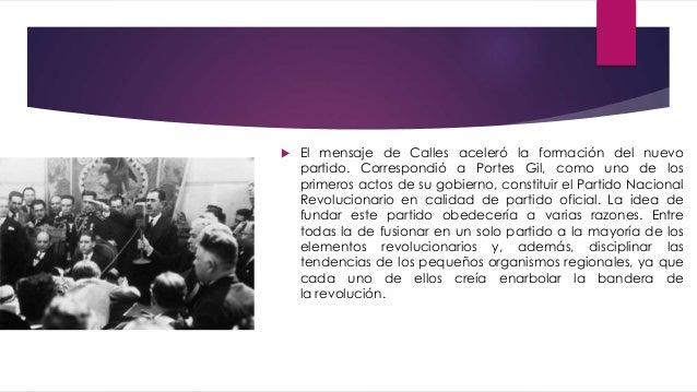 Tema 2 el maximato - Fundar un partido politico ...