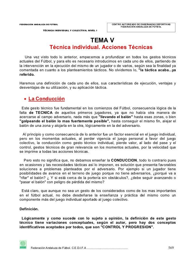 FEDERACIÓN ANDALUZA DE FÚTBOL                                                          CENTRO AUTORIZADO DE ENSEÑANZAS DEP...