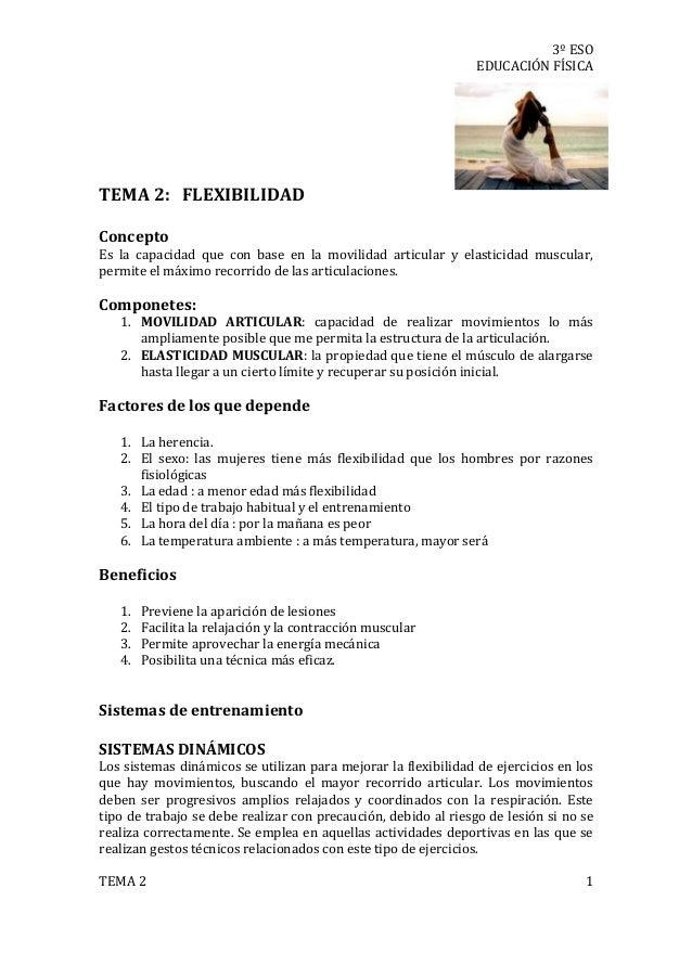 Tema 2 flexibilidad