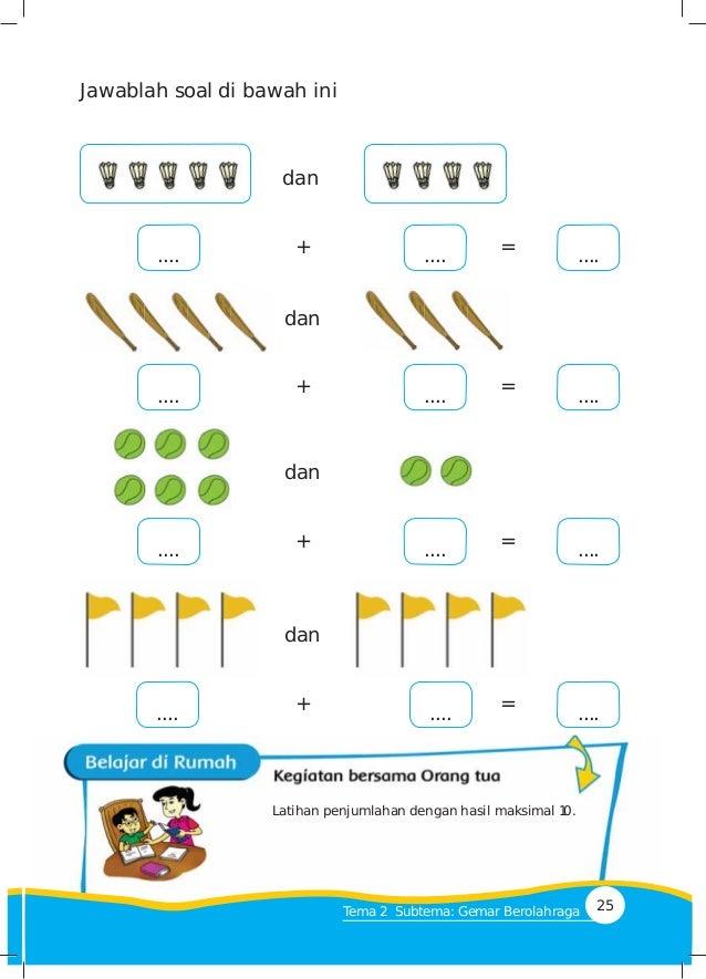 Tema 2 Kegemaranku Kurikulum 2013 Bse Kelas 1 Sd Buku Siswa