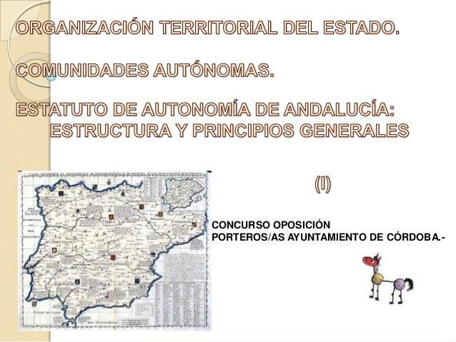 CONCURSO OPOSICIÓN PORTEROS/AS AYUNTAMIENTO DE CÓRDOBA.-