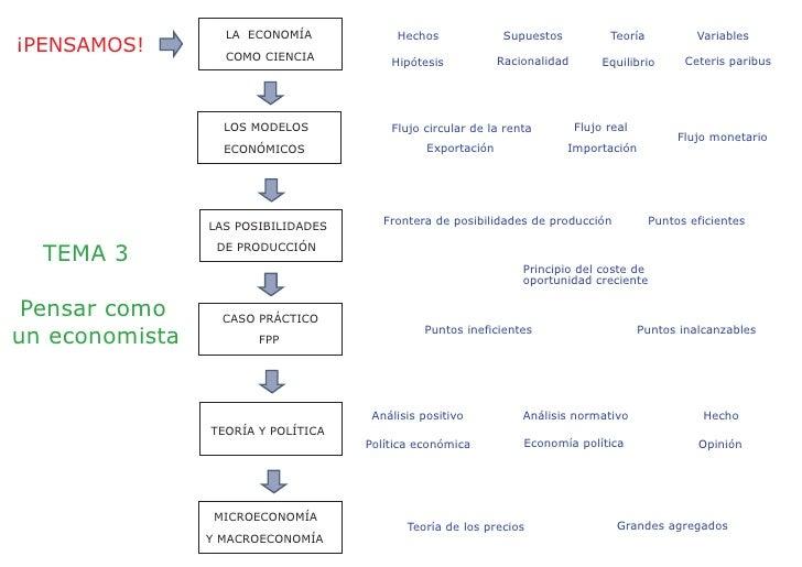LA ECONOMÍA            Hechos               Supuestos           Teoría           Variables ¡PENSAMOS!        COMO CIENCIA ...