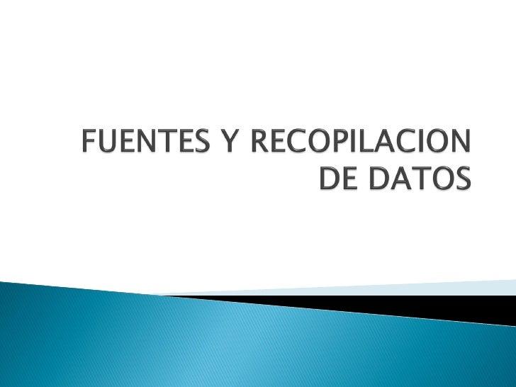 FUENTES       SECUNDARIOS       Resultados de ventas INTERNAS                        Información de costos                ...