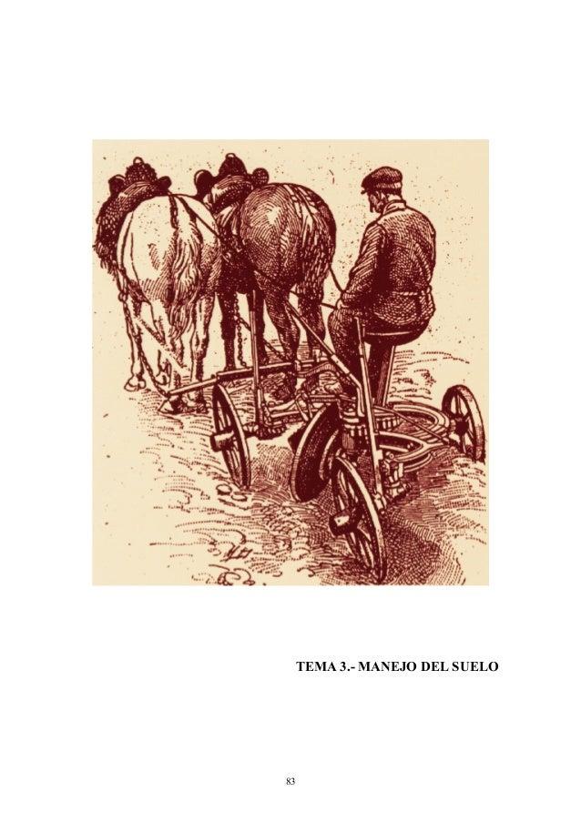 TEMA 3.- MANEJO DEL SUELO  83