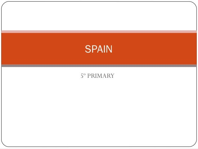 5º PRIMARY SPAIN