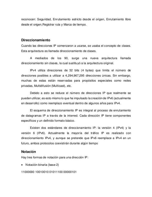 Investigación IPv4