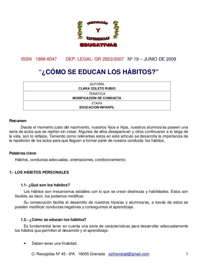 ISSN 1988-6047 DEP. LEGAL: GR 2922/2007 Nº 19 – JUNIO DE 2009C/ Recogidas Nº 45 - 6ºA 18005 Granada csifrevistad@gmail.com...