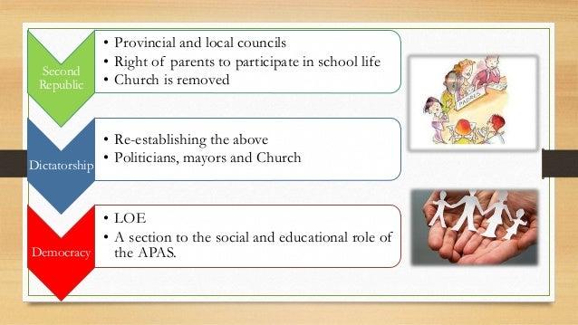 Tema 3: Participatory bodies: AMPAS Slide 3