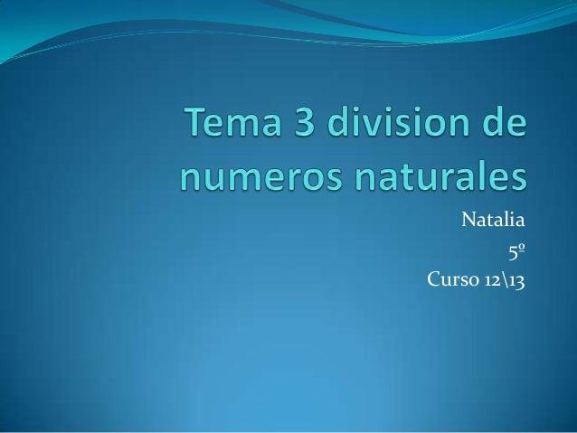 Natalia5ºCurso 1213