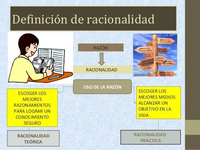 Tema 3 racionalidad te rica y pr ctica for Practica de oficina definicion