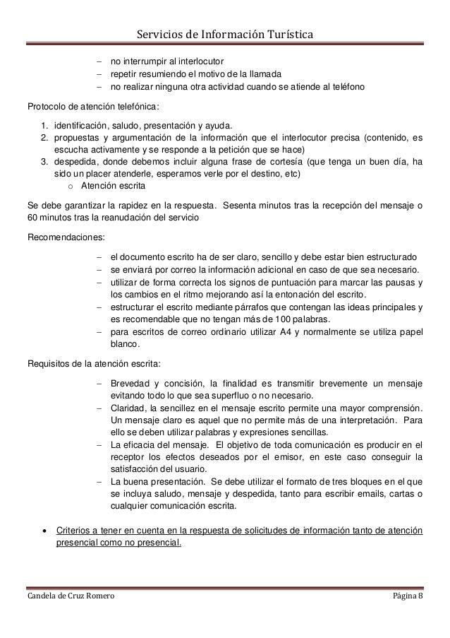 Tema 3. Diseño del Plan de Atención al Público en OITs.