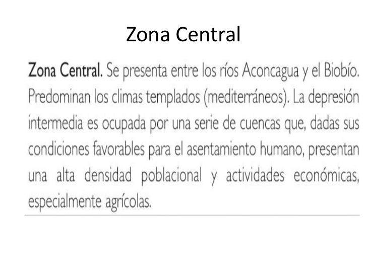 Zona Central<br />
