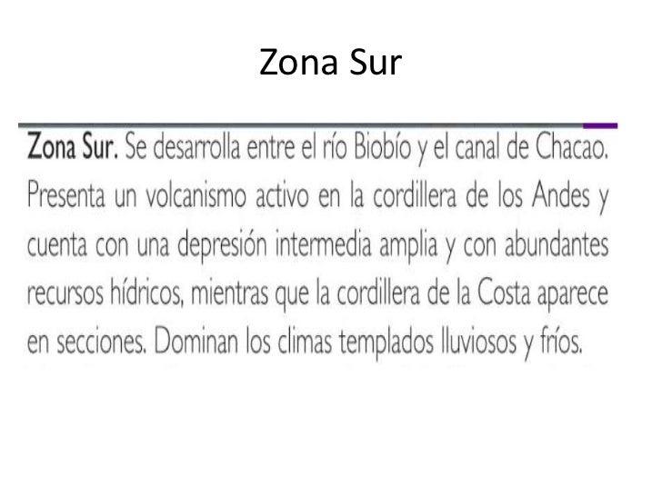 Zona Sur<br />