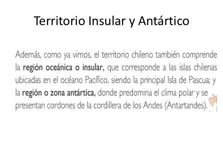 Territorio Insular y Antártico<br />