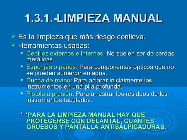 Limpieza y desinfecci n for Manual de limpieza y desinfeccion para una cocina