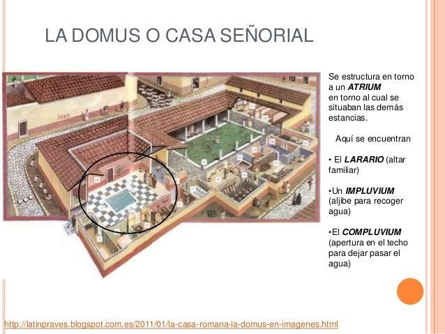 La casa y el mobiliario en la antigua grecia y la antigua roma Como eran las casas griegas