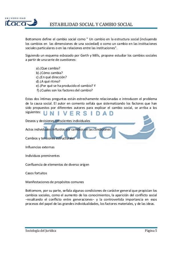 Tema 4 estabilidad social y cambio social factores sociales - Cambio de pisos entre particulares ...
