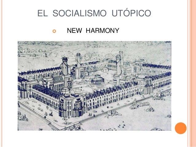 EL SOCIALISMO UTÓPICO  NEW HARMONY