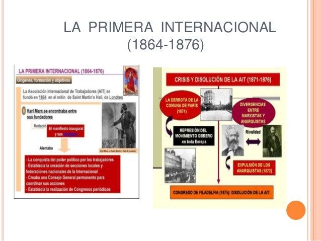 LA PRIMERA INTERNACIONAL (1864-1876)